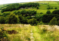 Mill workers path to Cragg Vale mills