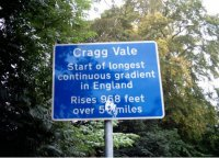 Cragg Vale's Favourite Sign by Harvey Wright