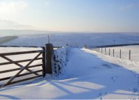 Stoney Royd Lane (in winter) by Andy Roberts